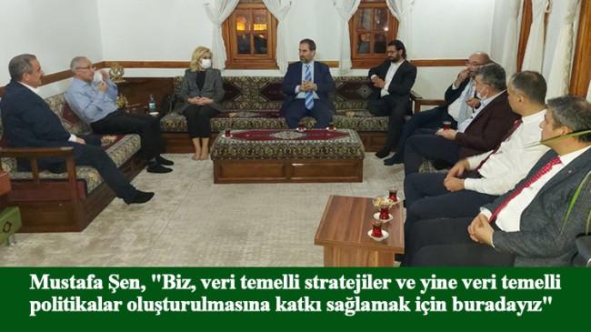 """Mustafa Şen, """"AK Parti'nin, yeni bir hikayesi olacak"""""""