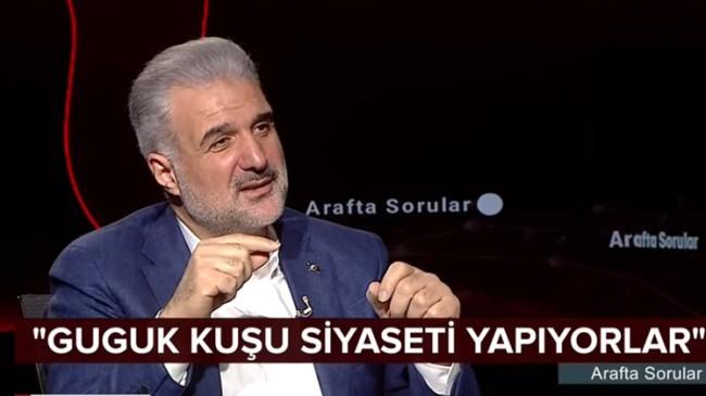 """Osman Nuri Kabaktepe, """"İstanbul'da bir 'guguk kuşu siyaseti' var!"""""""