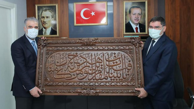 İl Başkanı Osman Nuri Kabaktepe, Ümraniye İlçe Teşkilatını ziyaret etti