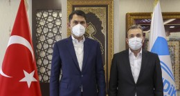 Pendik Belediye Başkanı Ahmet Cin, Bakan Murat Kurum'u belediyede ağırladı