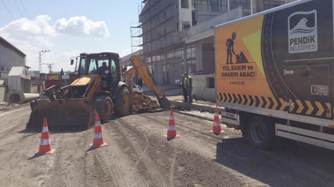 Pendik Belediyesi asfalt sezonunu açtı