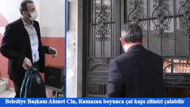Pendikliler, Belediye Başkanınız Ahmet Cin iftar öncesi her an kapınızı çalabilir