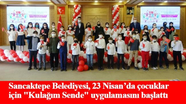 Sancaktepe Belediye Meclisi'nde çocukların 23 Nisan coşkusu