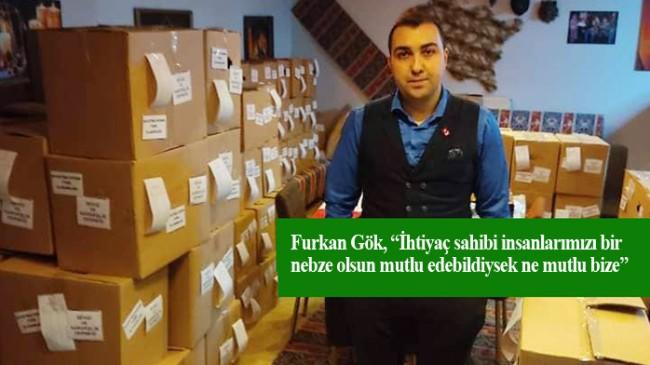 Sevgi ve Kardeşlik Derneği'nden ihtiyaç sahiplerine Ramazan yardımı