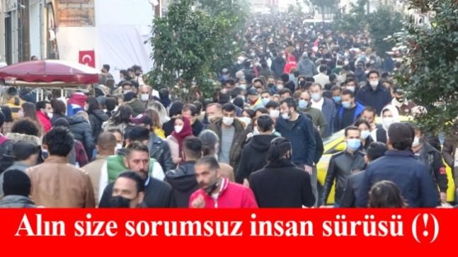 Sorumsuz insanların yüzünden İstanbul'da vakalar 10 kat arttı!