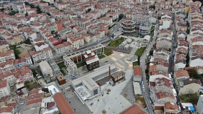 Tarihi Hasanpaşa Gazhanesi iki yıldır açılmayı bekliyor