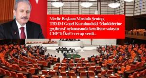 """TBMM Başkanı Mustafa Şentop, """"Özel aynaya baksın, pişman ederim!"""""""