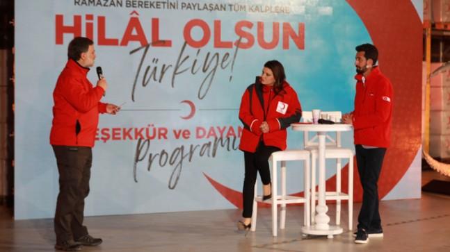 Türk Kızılay'ına 51 milyon TL bağış yapıldı