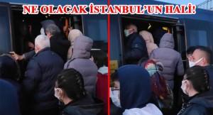 Türkiye'de vakaların yüzde 40'i niye İstanbul olduğunun fotoğrafı!