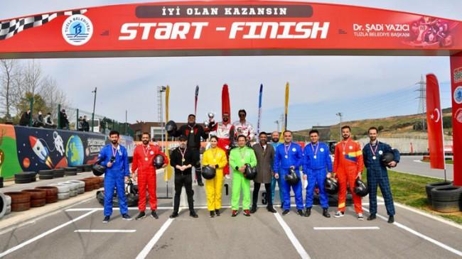 Tuzla'da kıyasıya yarış vardı