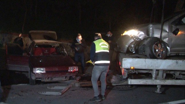 Üsküdar Salacak'ta aşırı hız kaza getirdi
