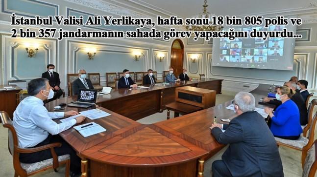 Vali Yerlikaya, hafta sonu İstanbul'da görev yapacak güvenlik sayısını açıkladı