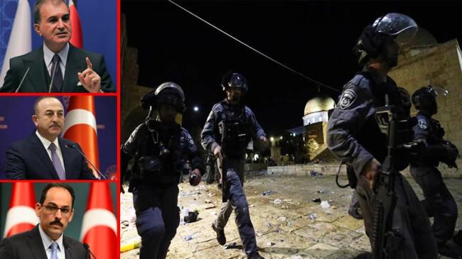 AK Parti camiasından Filistinlilere saldıran Siyonist İsrail'e çok sert tepki verildi
