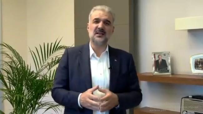 AK Parti İstanbul İl Başkanı Osman Nuri Kabaktepe'den Ramazan Bayramı mesajı