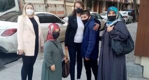 AK Parti Küçükçekmece, engelli ailelerin dertleriyle dertleniyor