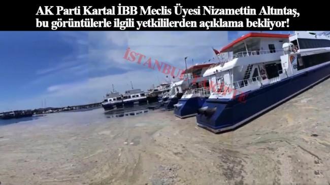 AK Partili Nizamettin Altıntaş, salyalarla ilgili İBB yetkililerinden açıklama bekliyor
