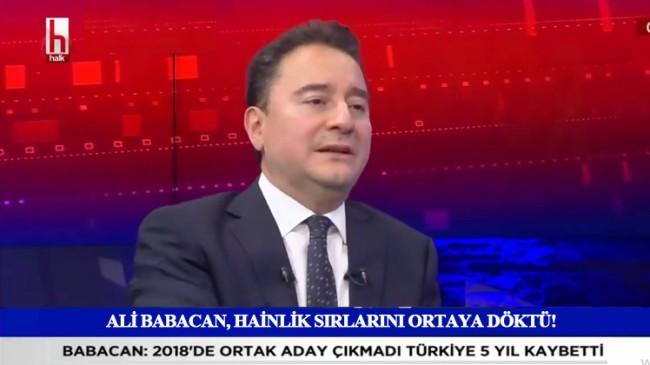 Ali Babacan, AK Parti üyesi iken Erdoğan'ı devirmeye çalıştığını itiraf etti!