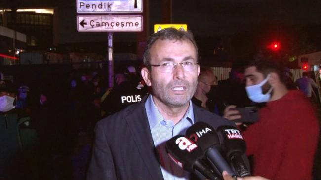 Başkan Ahmet Cin, patlamanın olduğu metro inşaatında açıklama yaptı