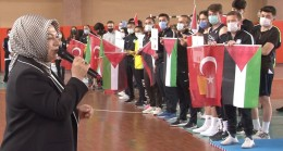 """Başkan Döğücü, """"Kardeş ve dost ülke Filistin'imizin tekvando Milli takımını Sancaktepe'de misafir ettik"""""""