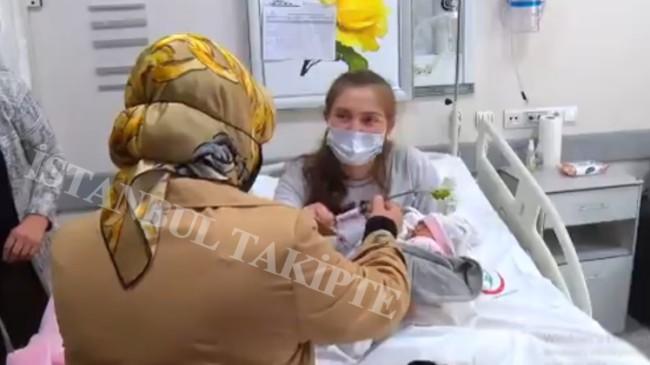 Başkan Döğücü'den yeni doğum yapan annelere hastanede anneler günü ziyareti