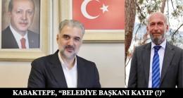 """Başkan Kabaktepe, """"6 milyon TL kayıp; Adalar Belediye Başkanı da kayıp!"""""""