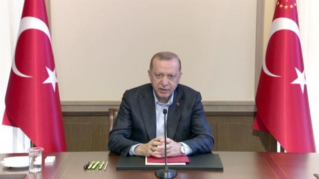 """Cumhurbaşkanı Erdoğan, """"Pazartesi gününden itibaren kontrollü normalleşme takvimini uygulamaya başlayacağız"""""""