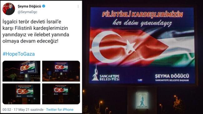 """Döğücü, """"İşgalci terör devleti İsrail'e karşı Filistinli kardeşlerimizin yanındayız"""""""
