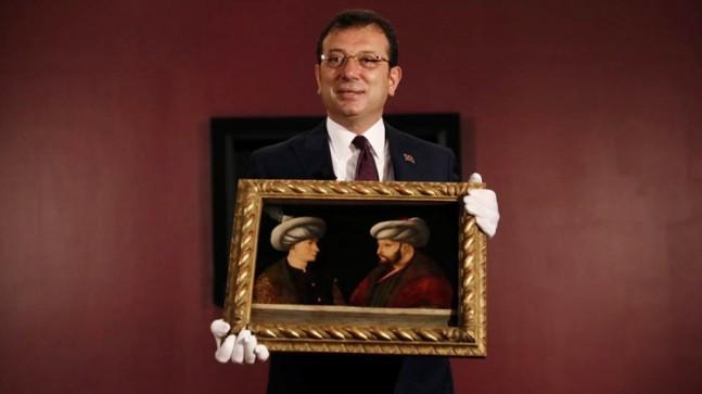 Ekrem İmamoğlu, tablosuna 935 bin Sterlin verdiği Fatih Sultan Mehmet'in ölüm yıldönümünü es geçti!