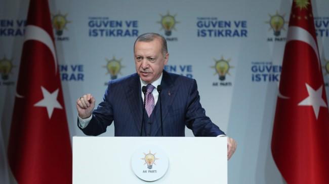 """Cumhurbaşkanı Recep Tayyip Erdoğan, """"Biz, ölümü korkutanlardan olacağız"""""""