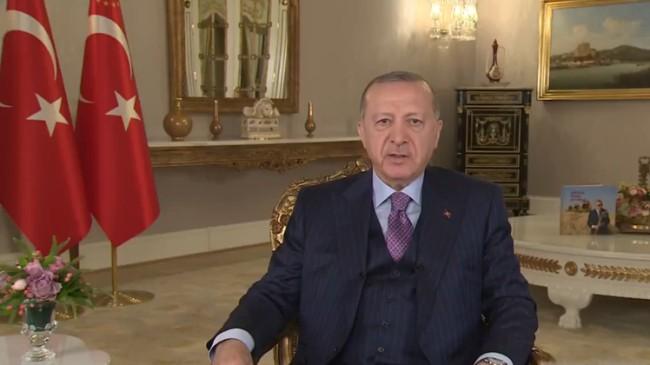 """Erdoğan, """"Bayram'dan sonra kontrollü bir şekilde normalleşme adımlarını atıyoruz"""""""