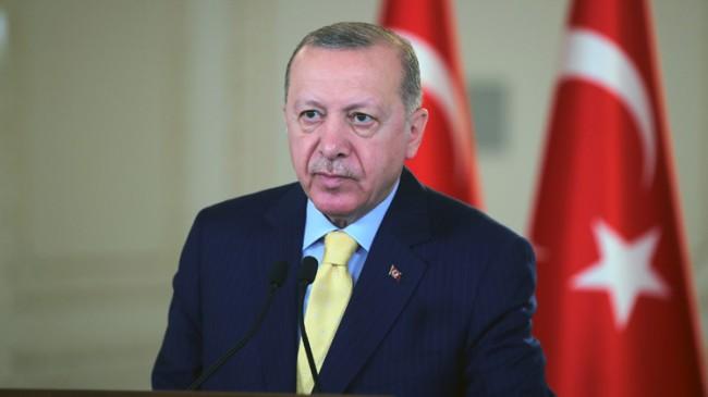 """Erdoğan: """"Kıbrıs'ta yeni bir müzakere süreci olacaksa iki devlet arasında yürütülmelidir"""""""