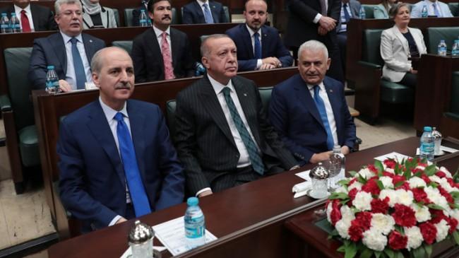 Erdoğan'dan Binali Yıldırım ve Numan Kurtulmuş'a başkanlık yapma görevi