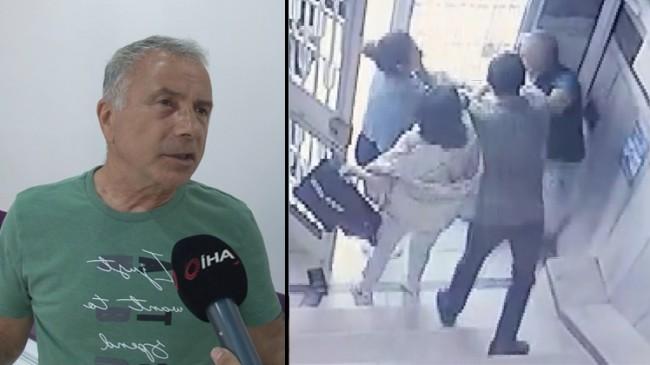 Kadının iftirasıyla darp edilen doktor, kendini güvenlik kameralarıyla akladı
