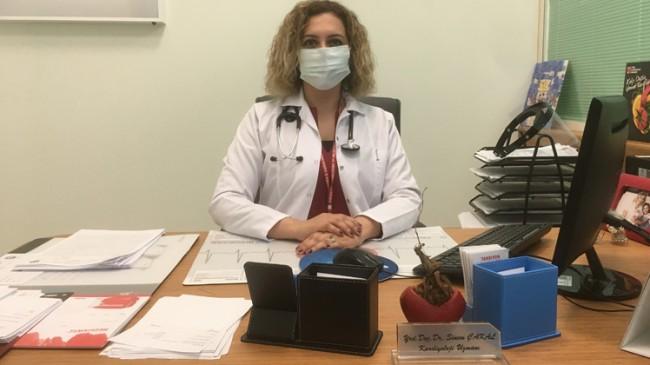 """Kardiyolog Sinem Çakal, """"Koronavirüs korkusu kalp krizini evde geçirtiyor"""""""