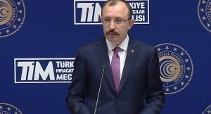 """Mehmet Muş, """"Türkiye'nin ihracatı, Nisan ayında yüzde 109 arttı"""""""