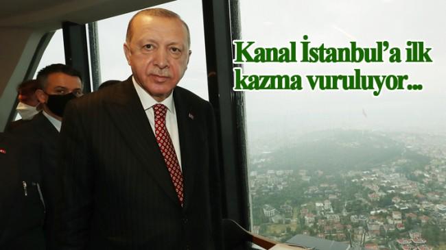 Cumhurbaşkanı Erdoğan, Kanal İstanbul'un temelini atmak için tarih verdi