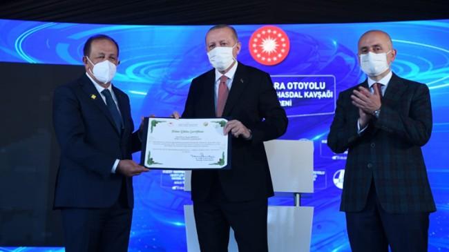 Recep Tayyip Erdoğan adına 50 bin fidanlık bir hatıra ormanı kuruldu