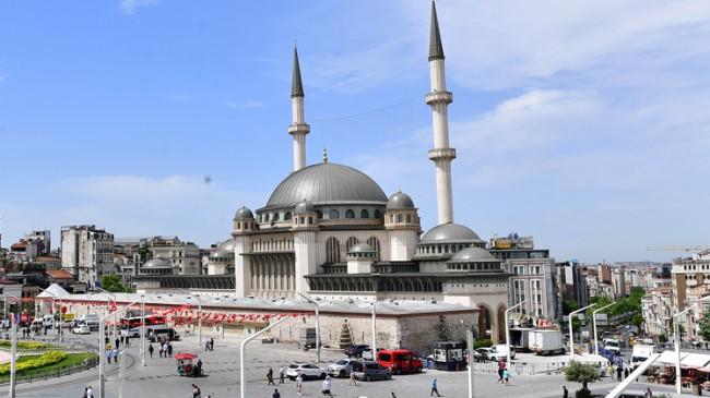 Taksim Camii açılışa hazır