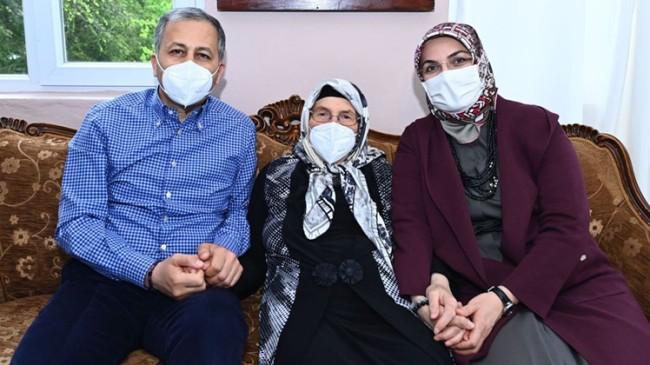 Vali Yerlikaya'dan muhtar Şafak Karakeskin'e anneler günü ziyareti