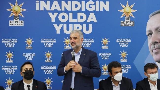"""Başkan Kabaktepe """"CHP'li İBB algı balonlarını kendi elleriyle patlatıyor"""""""