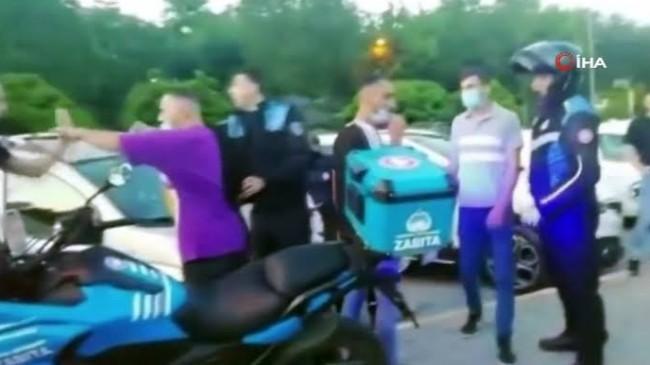 İBB zabıtası seyyar satıcının balonlarını acımasızca patlattı!