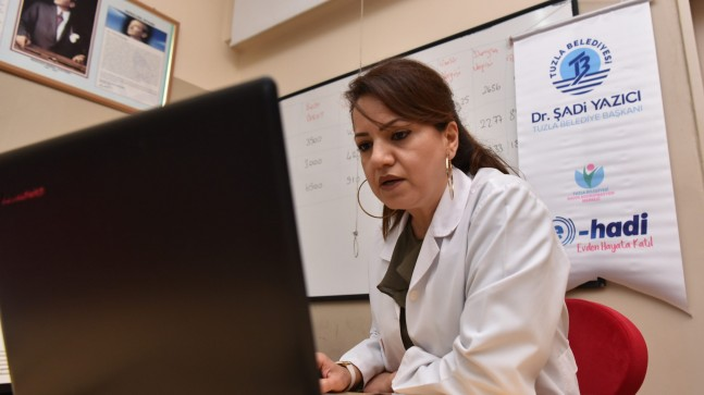 Tuzla Belediyesi, kadınlara yönelik online kursları başlattı