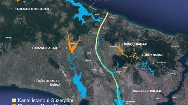 Kanal İstanbul projesi temel atma töreni yaklaştıkça heyecan artıyor