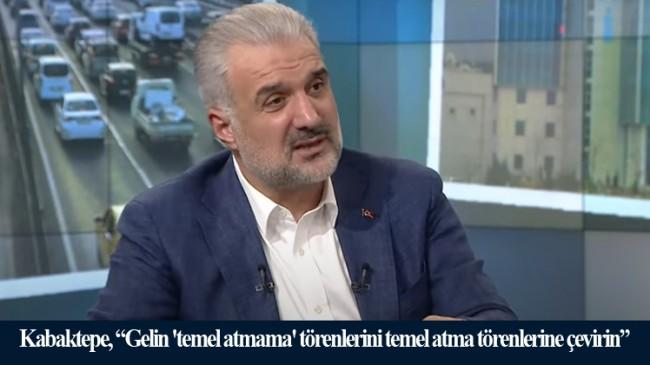 """Başkan Kabaktepe, """"İstanbul 25 yıldır böyle bir beceriksizlikle karşılaşmadı"""""""