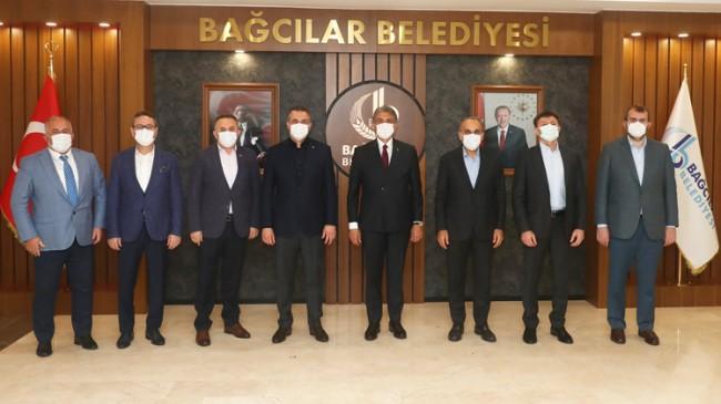AK Parti'li 3. Bölge belediye başkanları istişare toplantısında bir araya geldi