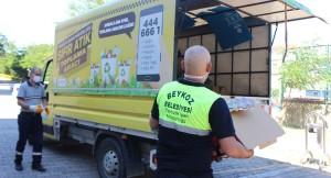 Beykoz Belediyesi, geri dönüşümü mümkün atıkları ekonomiye kazandırıyor
