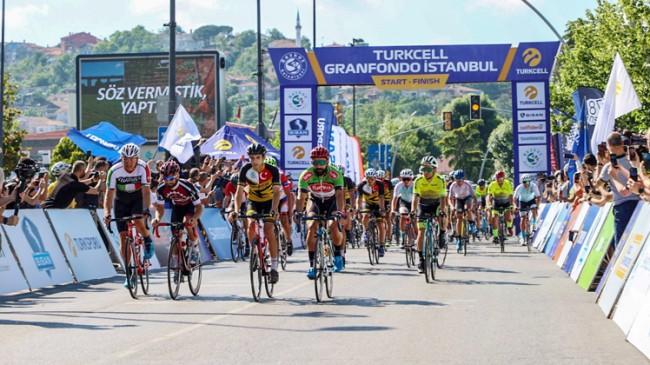 Beykoz'da uluslararası bisiklet yarışı düzenlendi