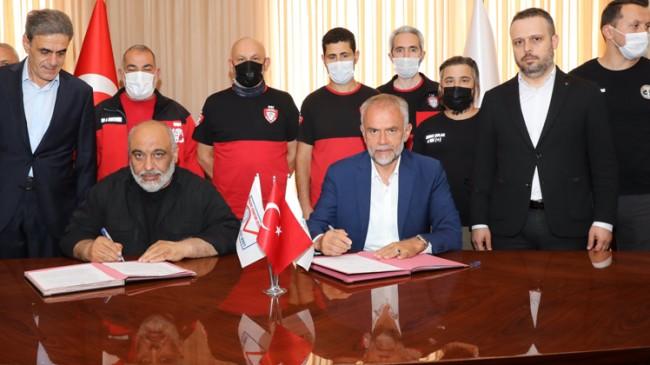 Çekmeköy Belediyesi ile İHH arasında arama kurtarma için iş birliği