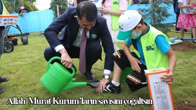 Çevre ve Şehircilik Bakanı Murat Kurum'dan duygulandıran görüntüler