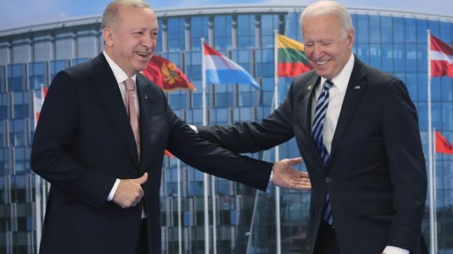 Cumhurbaşkanı Erdoğan ile Joe Biden arasındaki görüşme güzel geçti